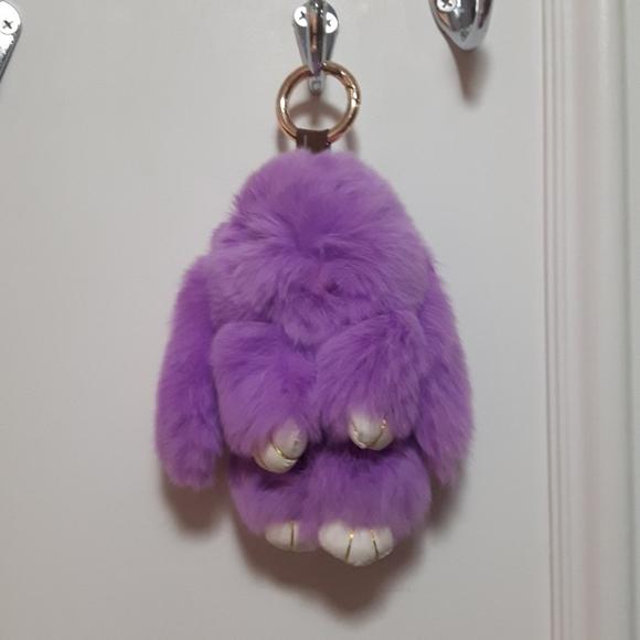 🛍️ NWOT real fur purse accessory